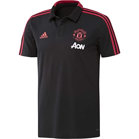 c1d248c34d6 Image Unavailable. Image not available for. Color: adidas 2018-2019 Man Utd  Training Polo Football Soccer ...