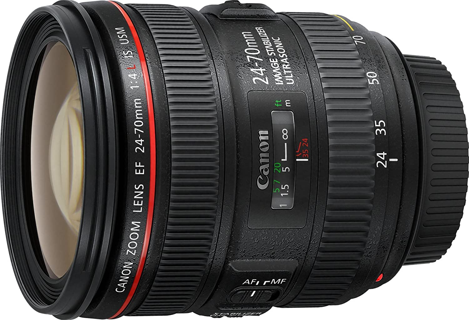 Canon  mm f L IS USM EF Objetivo para Canon distancia