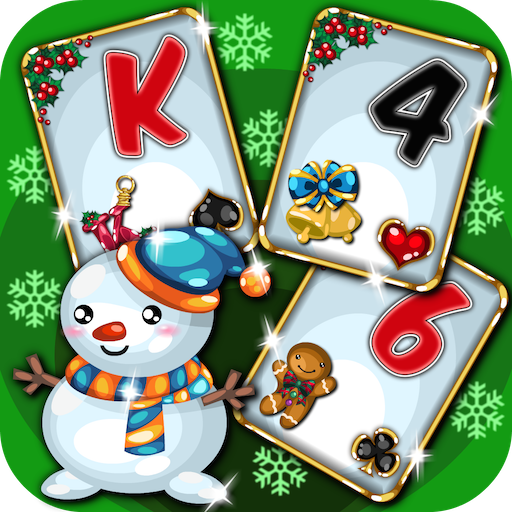 Christmas Holiday Solitaire - Tripeaks and Pyramid Card Game - Tri Suits Unique