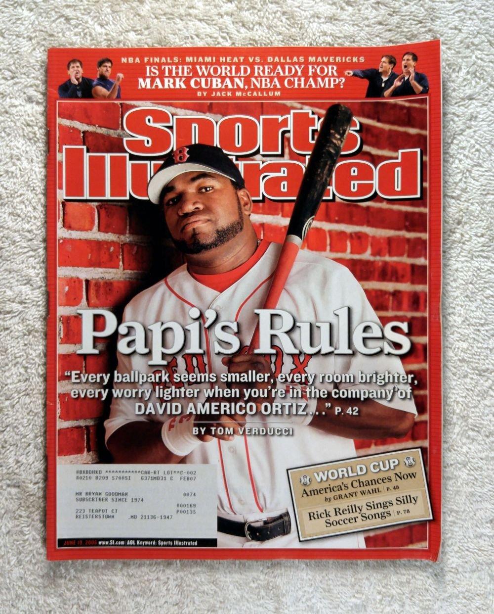"2016 Topps Now #564-A David Ortiz Baseball Card Crowd Chants /""Thanks Papi/"""