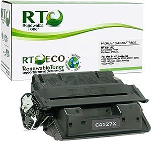 Renewable Toner Compatible Toner Cartridge High Yield Replacement for HP 27X C4127X Laserjet 4000 4050