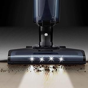 Cordless Vacuum Cleaner, 2020 Upgraded 18000PA Upright Stick Cordless Bagless Vacuum, 2500mAh Battery, 0.9L Large Dirt Bin, Lightweight Vacuum for Pet Hair Hard Floor Carpet