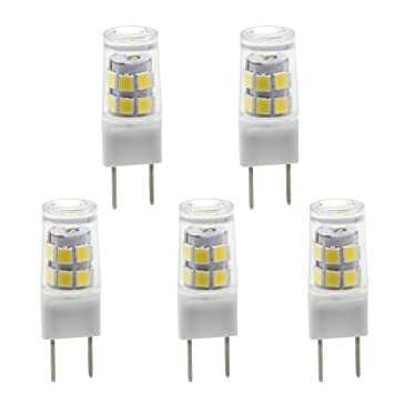 G8 T4 bi-pin bombilla LED G8 3000 K JCD 110 V xenón halógena 25 W ...