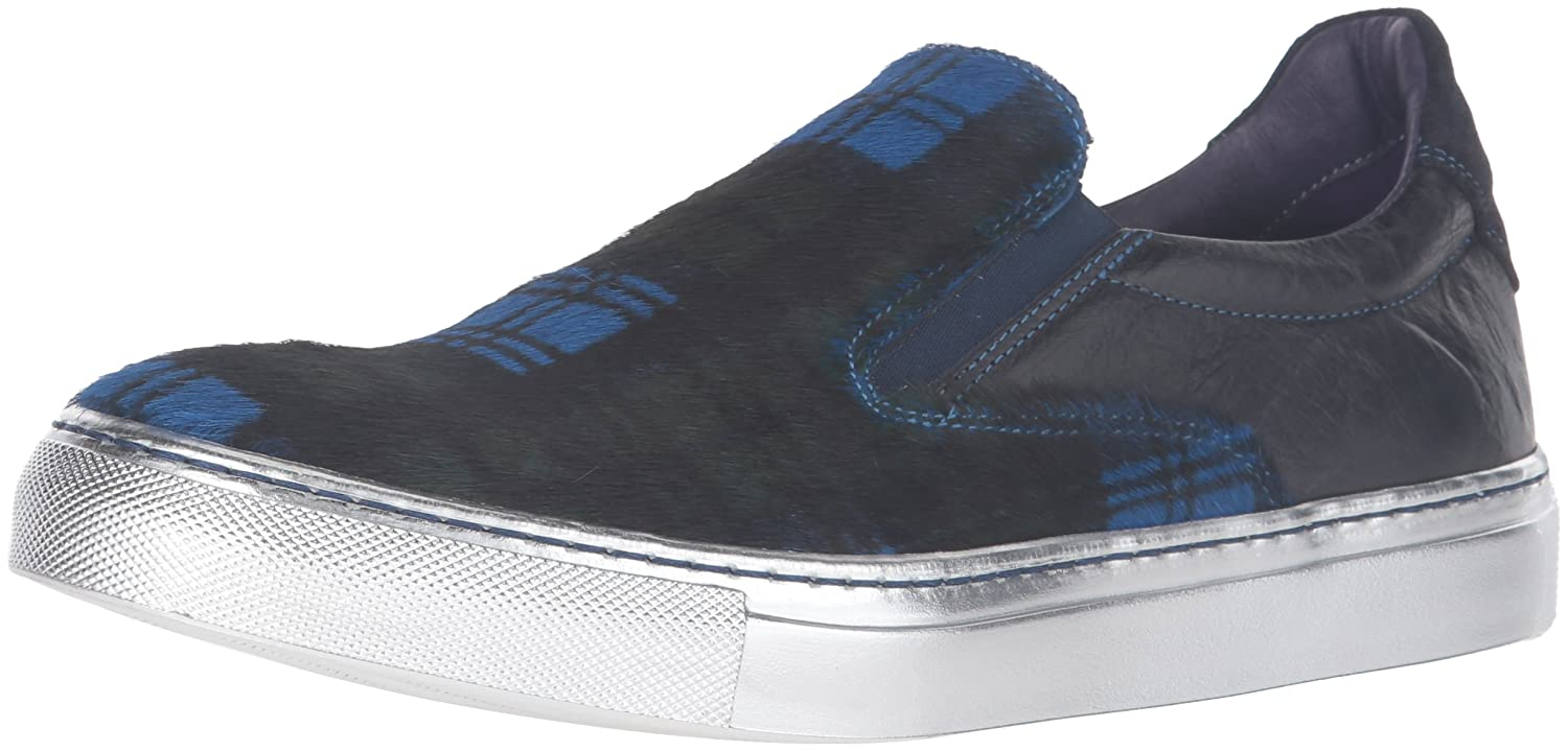Robert Graham Men's Rolo Fashion Sneaker Blue/Multi 9 M US RG0414109PY
