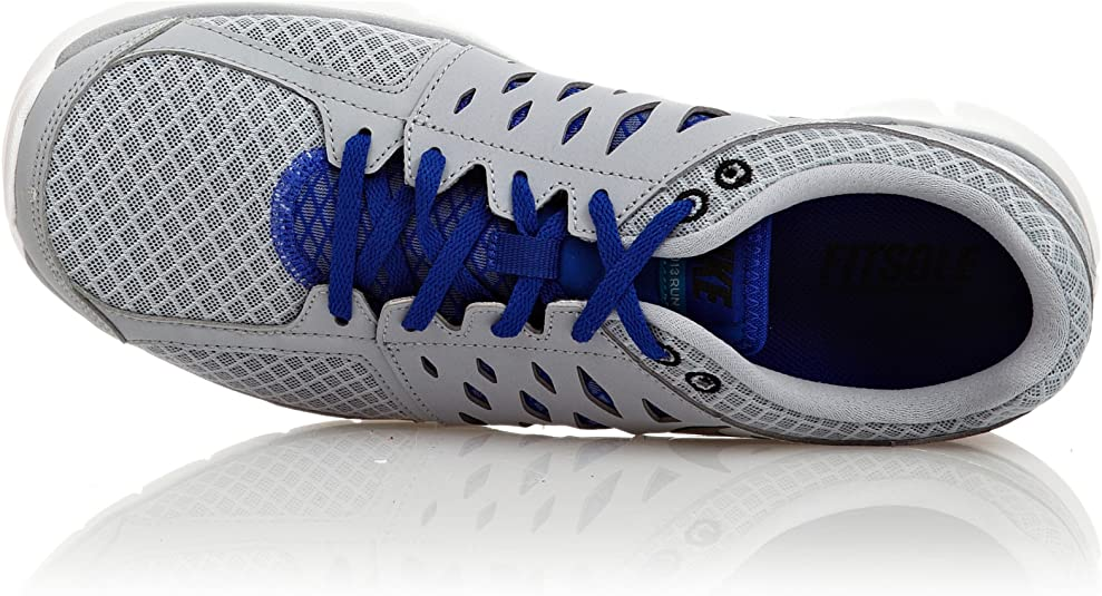 Nike Flex 2013 Run Zapatillas Running para Correr Gris Azul
