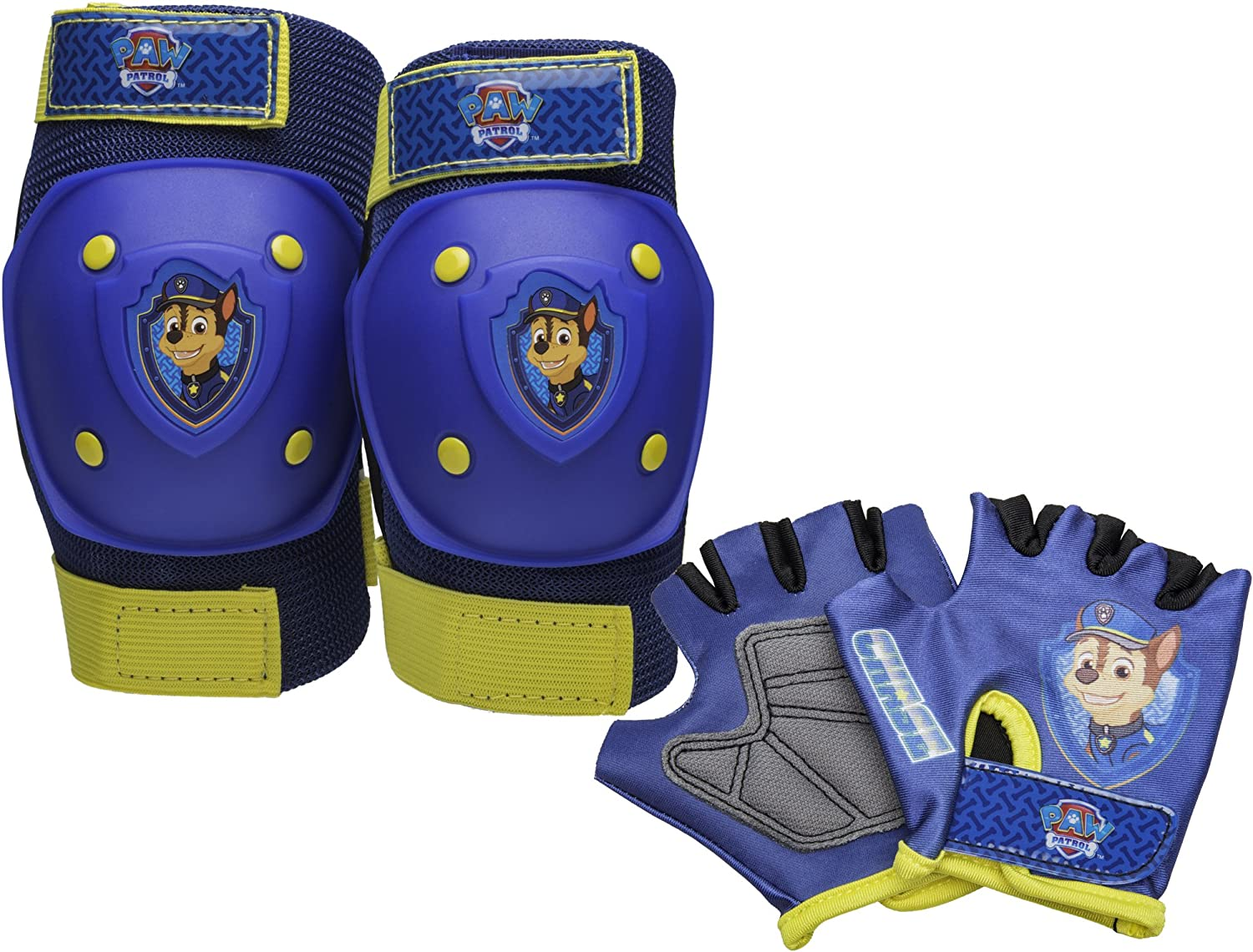 Safety GLOVES+ELBOW+KNEE PAD SET Scooter Skates Toddler Paw Patrol BIKE HELMET