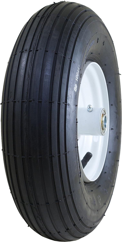 Air Filled 3 Hub Tire on Wheel 5//8 Bearings Marathon 4.00-6 Pneumatic