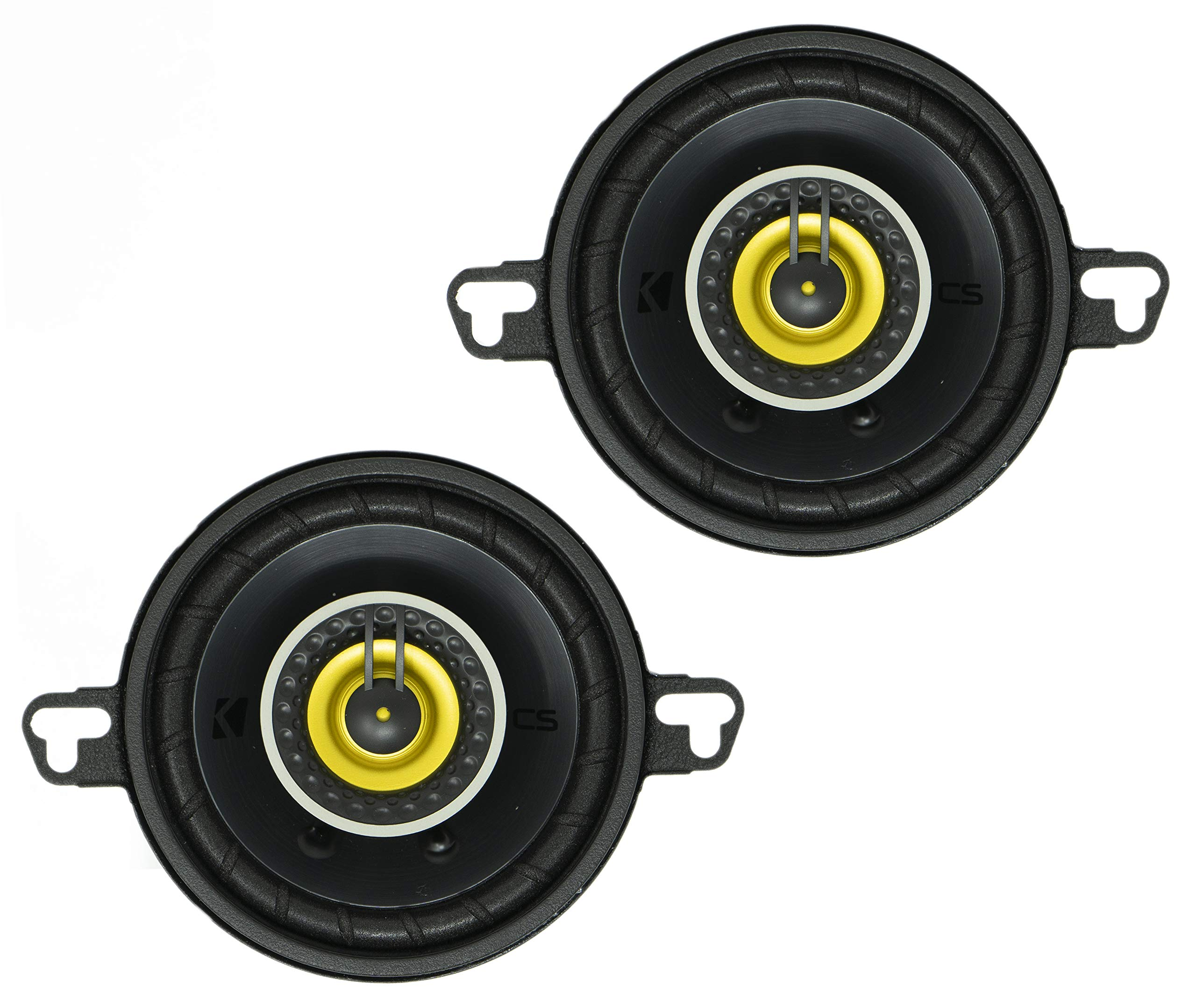 Kicker 46CSC354 Car Audio 3 1/2'' Coaxial Full Range Stereo Speakers Pair CSC35 by KICKER