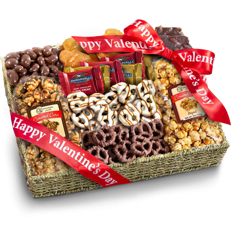 Golden Chocolate Sampler Gift Basket