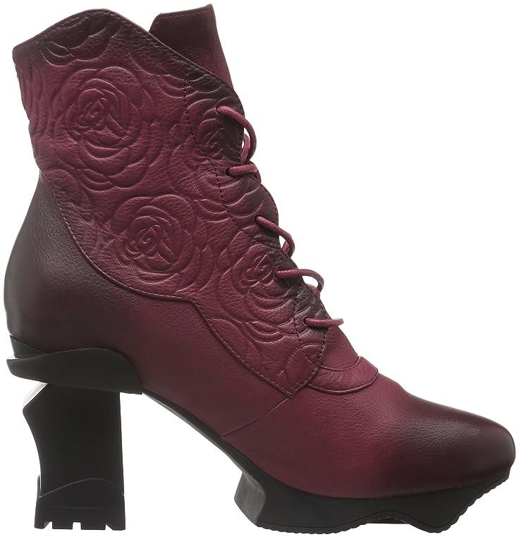 Aktuelle Damen Stiefel Schuhe Blockabsatz 7707 Schwarz 37