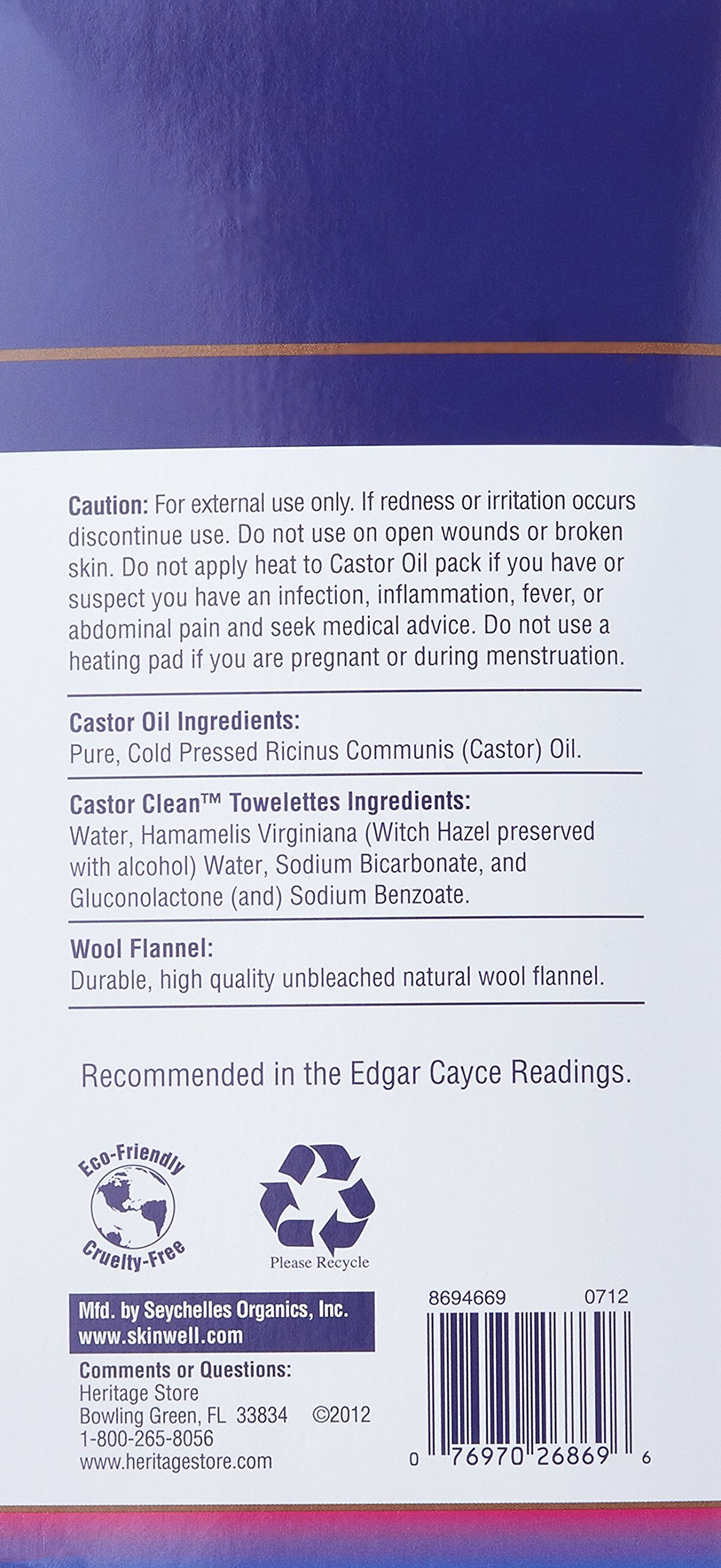 Heritage Store Castor Oil Pack Kit by Heritage Store (Image #2)