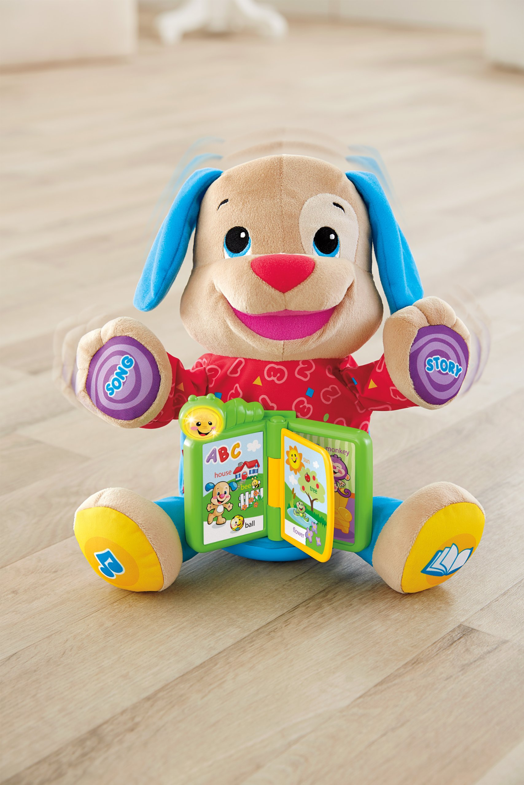 Fisher-Price Laugh & Learn Singin' Storytime Puppy by Fisher-Price (Image #7)
