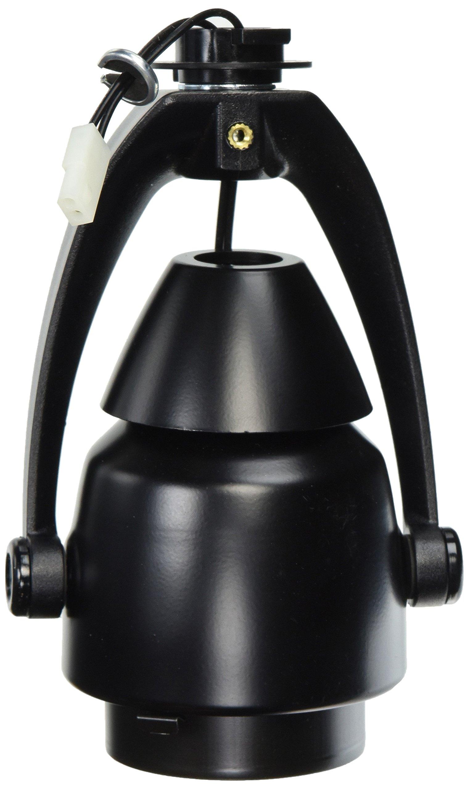 Juno Lighting T406BL Trac-Master Conix Low Voltage MR16 Lampholder, Black