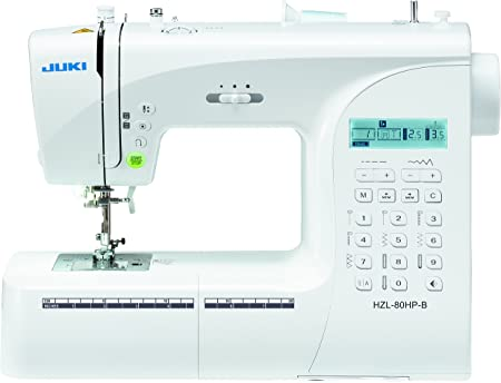JUKI máquina de Coser electrónica, Metal, Blanco, 40 x 18,8 x 29 ...