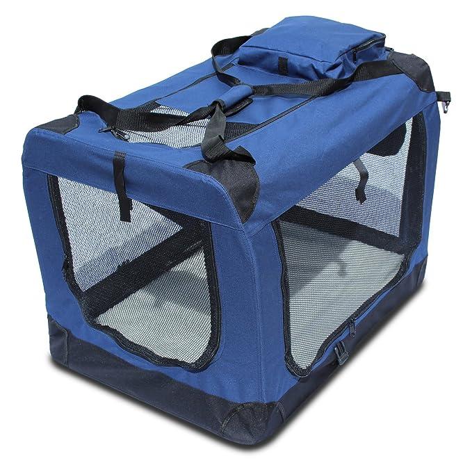 YATEK Transportin para Perros Plegable (81,3 x 58,4 x 58,4cm ...