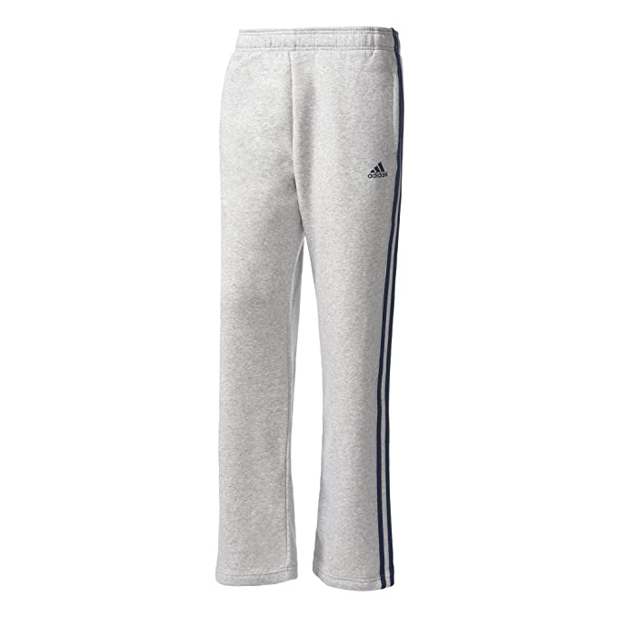 adidas Herren ESS 3S R PNT FL 3 Streifen Regular Fleece Hose