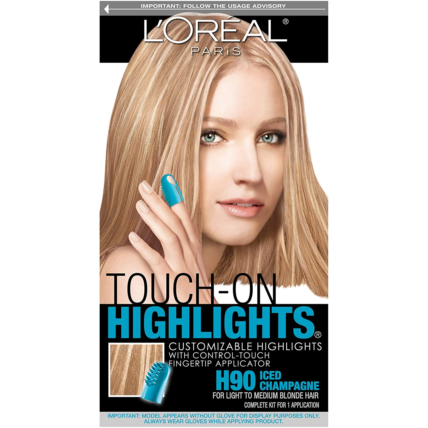L'Oreal Paris Touch-On Highlights, Iced Champagne H90 L'Oreal Paris B017-01