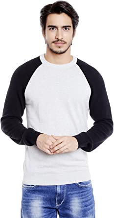 416674f04f2 Globus Long Sleeve Sweater for Men  Amazon.in  Clothing   Accessories