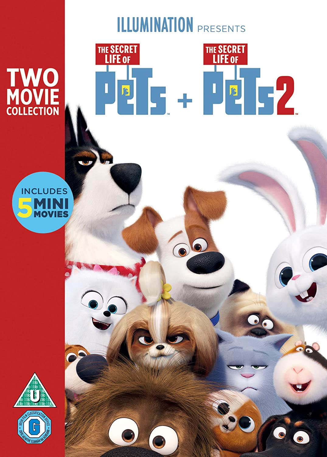 Children/'s Toy Game Gift Idea Secret Life of Pets Colour Your Own Bag