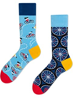 Augustin Socken mit Fahrradmotiv