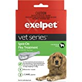 EXELPET Spot-on Medium Dog Flea Treatment, 2 x 1.34ml