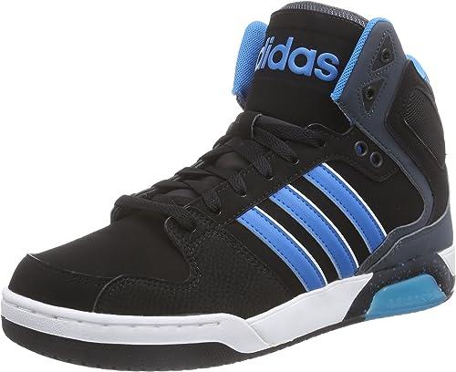 Alfombra de pies pala Enredo  adidas Bb9Tis Mid, Men's Basketball Shoes, Black - Schwarz (Black/Blue), 10  UK: Amazon.co.uk: Shoes & Bags