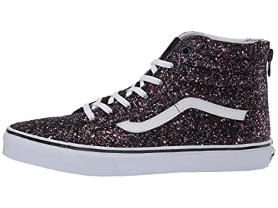 5c300ed21b6b Vans Kids Girl s Sk8-Hi Zip (Little Kid Big Kid) (Glitter