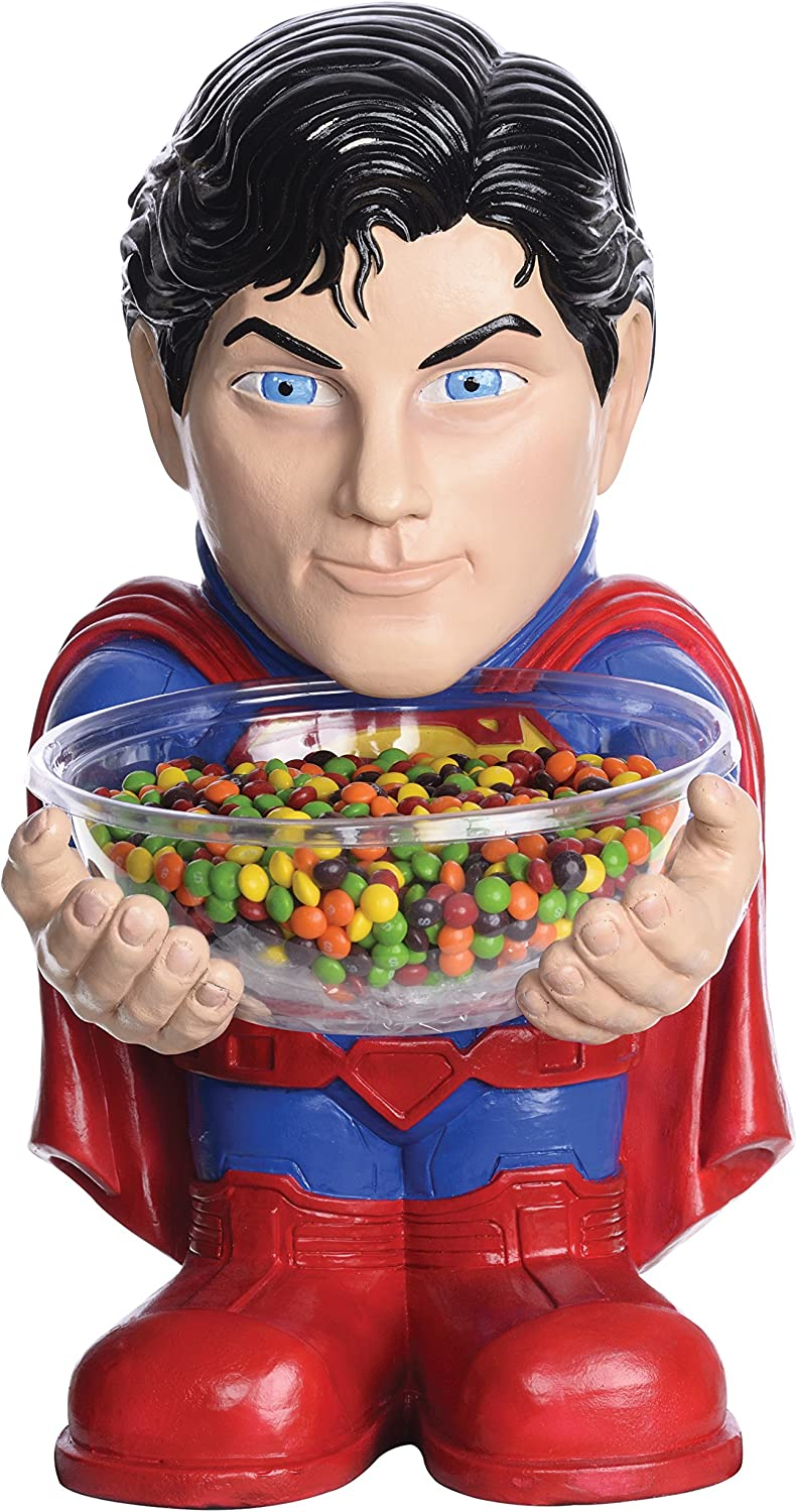 Rubie's DC Comics Superman Candy Bowl Holder, Standard