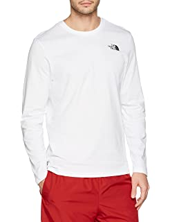 fa83bd3be THE NORTH FACE Men's Easy Long Sleeved T-Shirt: Amazon.co.uk: Clothing