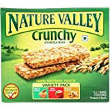 Nature Valley Crunchy Granola Bars, Variety Pack, 252g