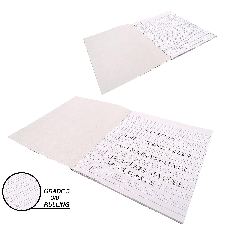 EmRade - Cuaderno de notas de composición, grado 3, 50 hojas ...