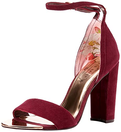 e5f3d9180d1 Ted Baker Womens PHANDA Ankle Strap Sandals  Amazon.co.uk  Shoes   Bags