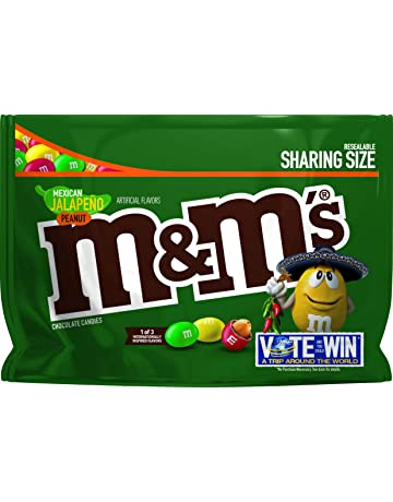 MMs Chocolate Candy Flavor Vote Mexican Jalapeno Peanut Sharing Size 96 Ounce Bag