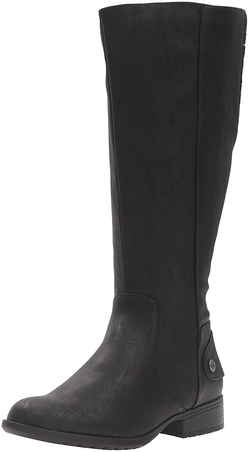 LifeStride Women's Xandywc Riding Boot- Wide Calf B01DV98PXU 10 W US|Black