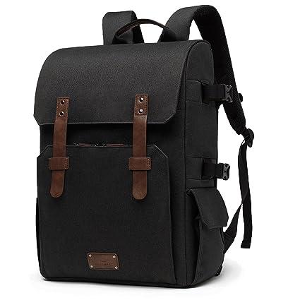 Amazon.com   BAGSMART Camera Backpack for SLR DSLR Cameras   15.6