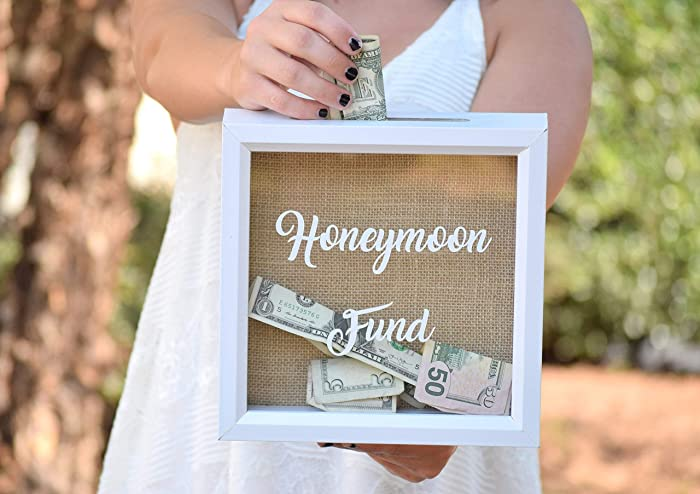 Amazon Honeymoon Gift Honeymoon Fund Wedding Sign Honeymoon