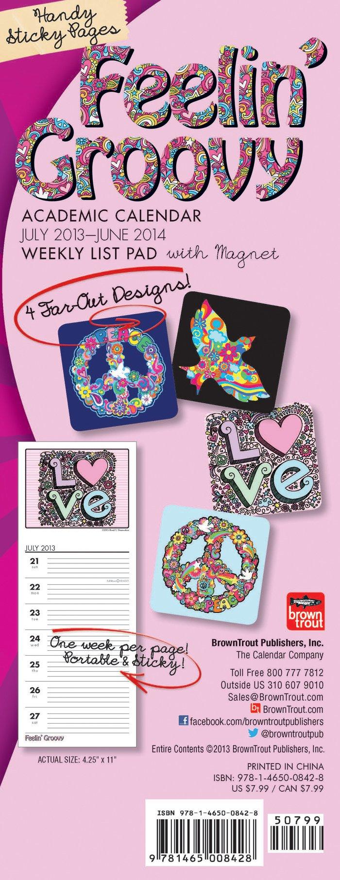 Download Peace & Love 2013-14 Weekly List Pad ebook