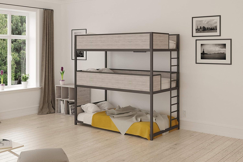 Heavy Duty Triple Bunk Bed