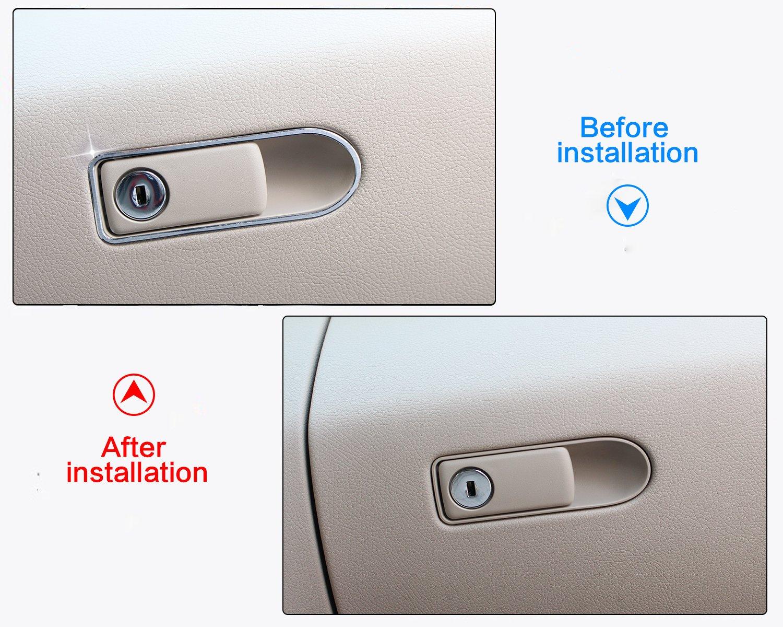 Lega Di Alluminio Key Hole Trim Sticker
