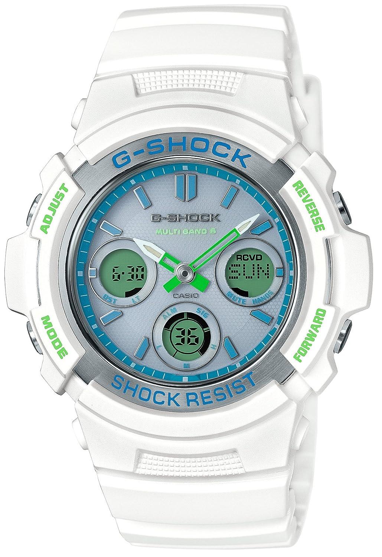[カシオ]CASIO 腕時計 G-SHOCK ジーショック 電波ソーラー AWG-M100SWG-7AJF メンズ B06XFKWRTQ