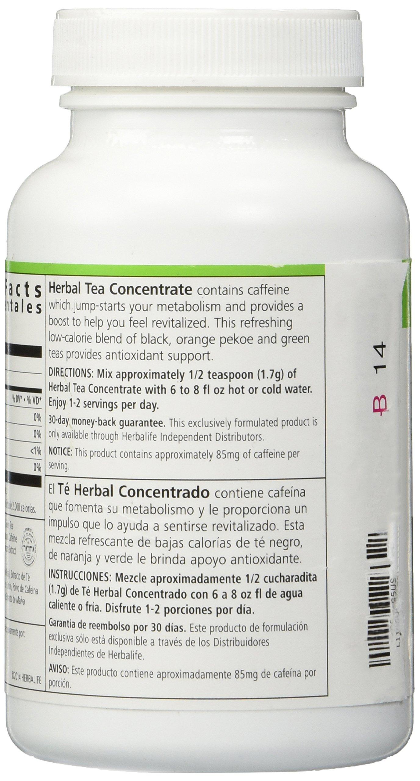 HERBALIFE HERBAL TEA CONCENTRATE - ORIGINAL FLAVOR 3.53 OZ by Herbalife (Image #4)