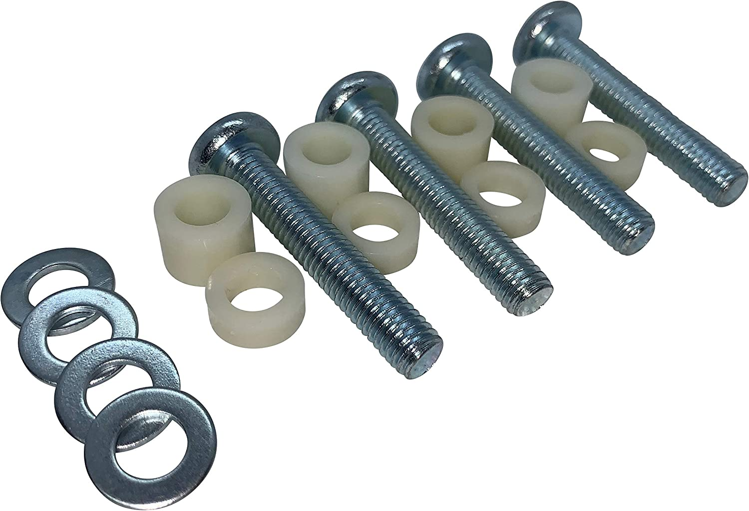 M8x45mm Bolt kit for Wall mounting Samsung TVs. Screws, washers and spacers Included