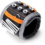 HORUSDY Magnetic Wristband ,with Strong Magnets for Holding Screws, Nails, Drilling Bits, of The Best Gifts Tools for Men