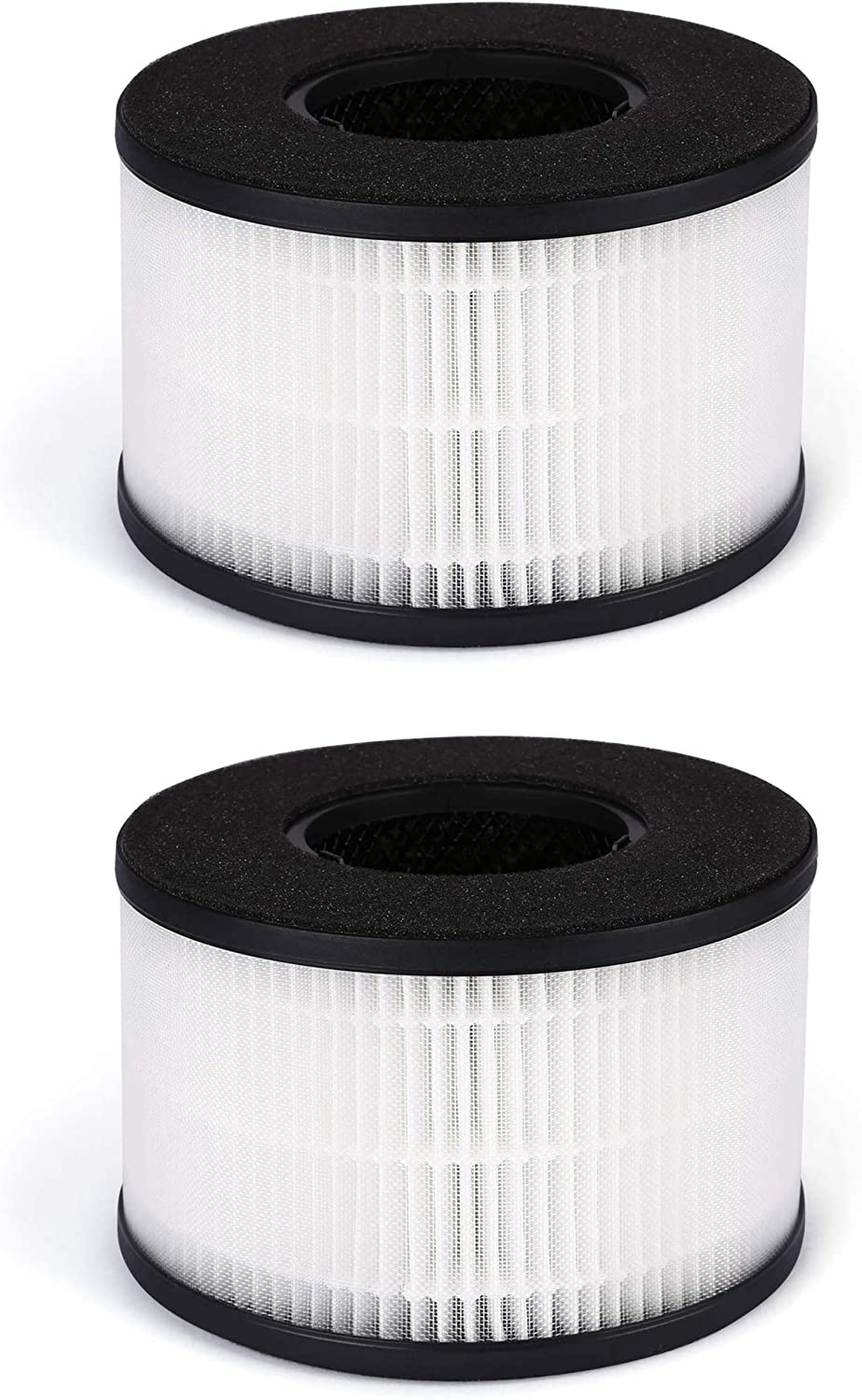 Fette Filter - HEPA Air Replacement Filter, 3-in-1 Filtration System Compatible with PARTU BS-03 Includes Pre-Filter, True HEPA Filter, Activated Carbon Filter - Pack of 2