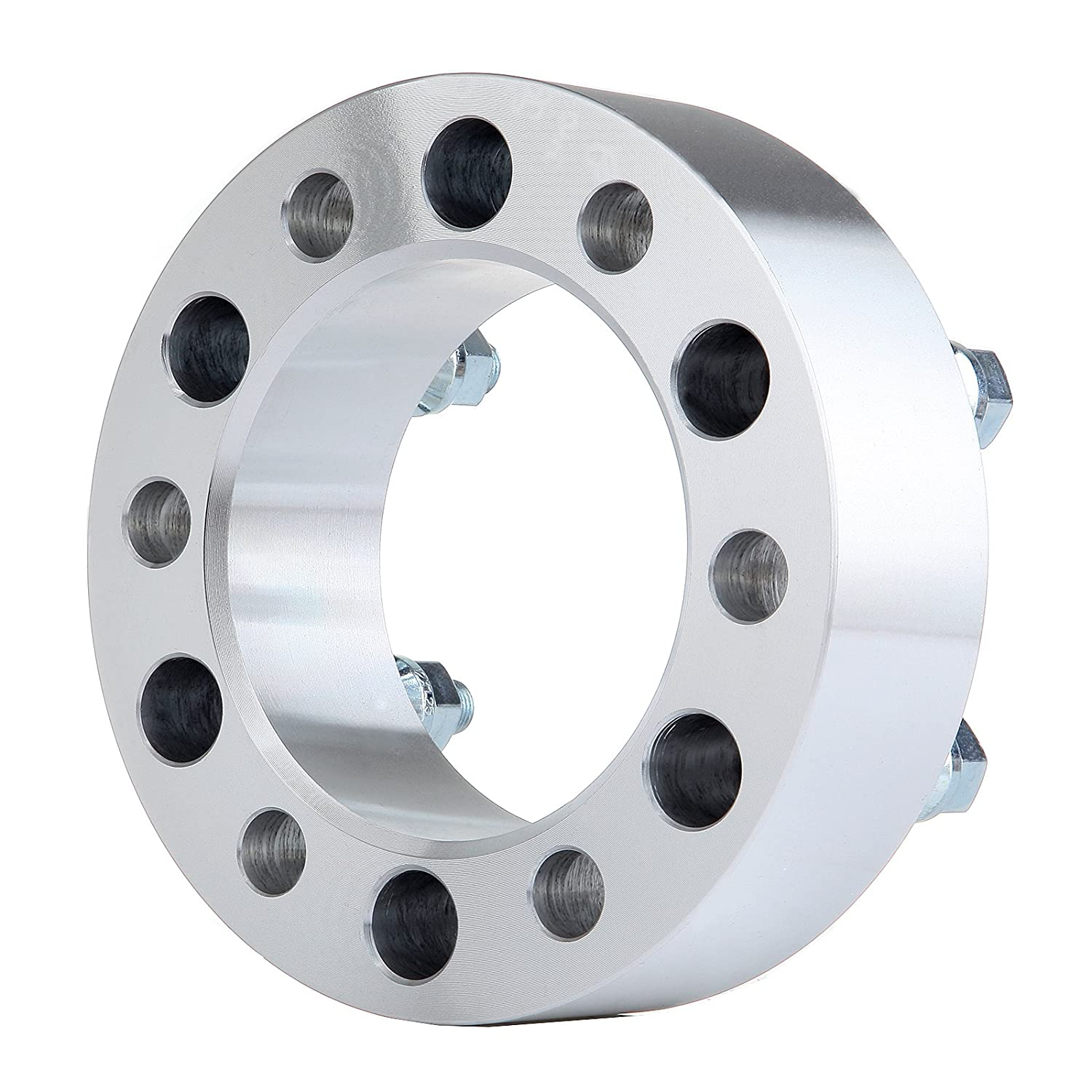12x1.25 Studs 2X ECCPP 2 inch 50mm Wheel Spacer 6x5.5 to 6x5.5 6x139.7mm to 6x139.7mm 108mm 6 Lug fits for Nissan Armada Nissan Titan