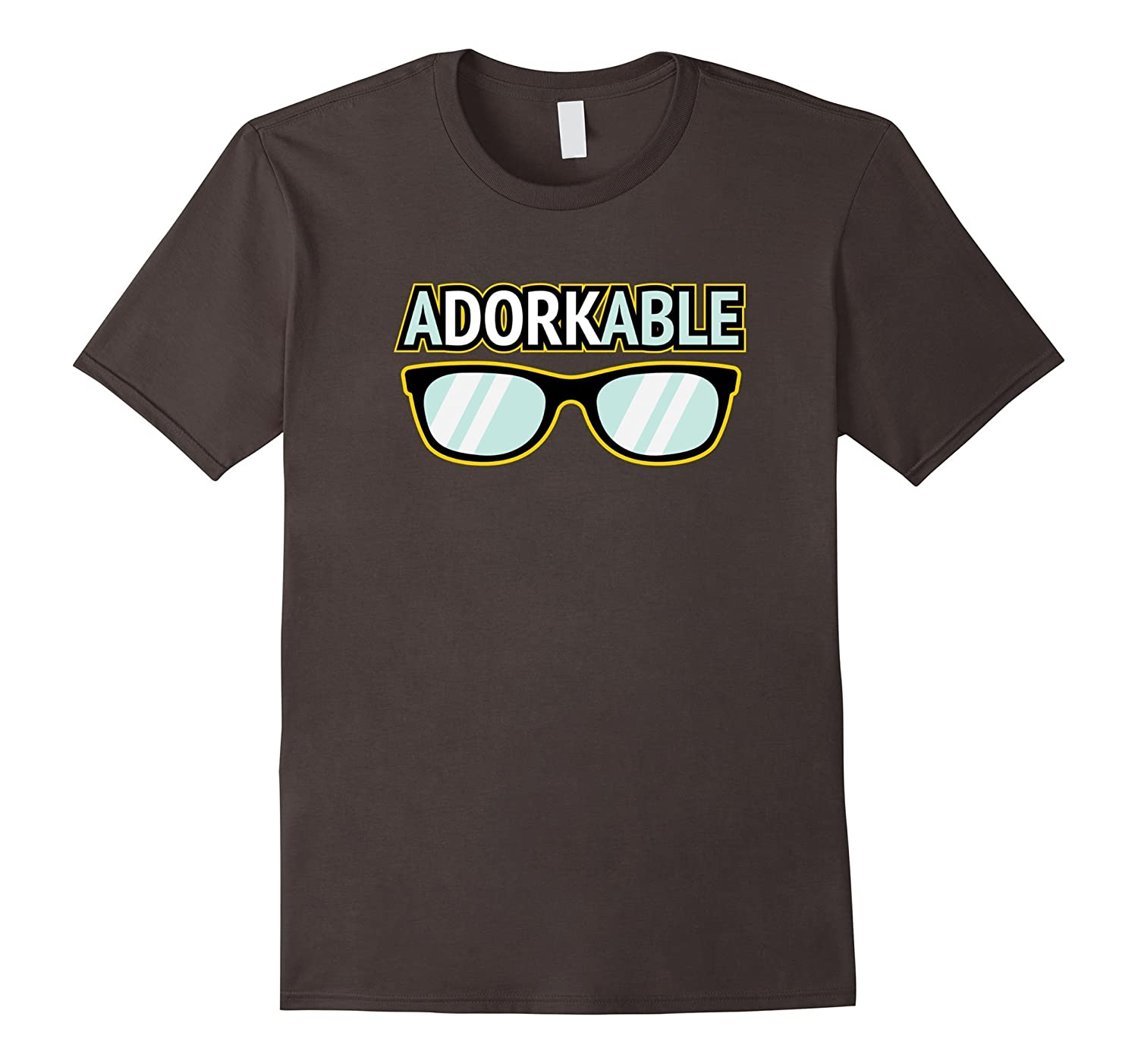 Adorkable Glasses T-shirt - Perfect Tee For Nerds, Geeks-Art