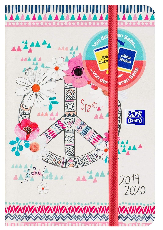 Oxford - Agenda escolar Boho Chic 12 x 18 cm 1 día por ...