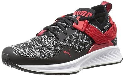 PUMA Ignite Evoknit Lo Jr Sneaker Black-Toreador 412a76dba