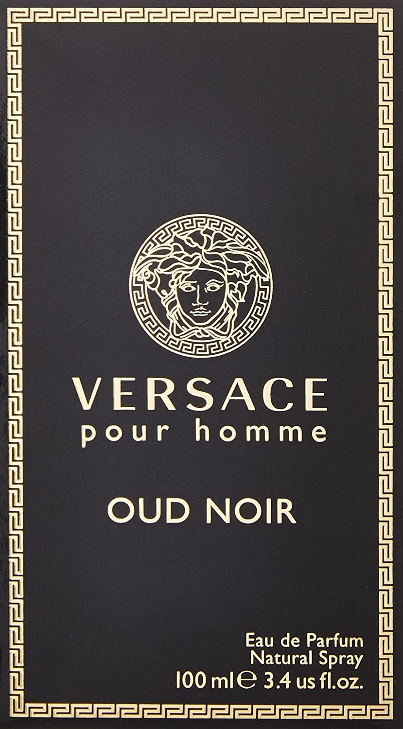2a453147c Versace Pour Homme Oud Noir by Versace for Men - Eau de Parfum, 100ml:  Amazon.ae: Rakuten1
