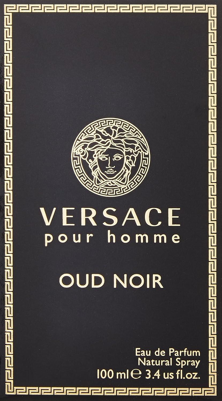 Amazon Versace Oud Noir Eau De Parfum Spray 34 Ounce Beauty
